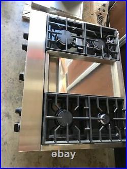 KITCHEN AID 36 Gas Cooktop Model KGCU463CSS