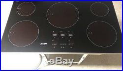 KM5773 Miele 36 Induction Electric Ceramic Cooktop Burner Cooker Black