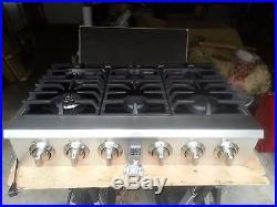 Kenmore Pro 36 6 Burner Stainless Steel Gas Range Cooktop