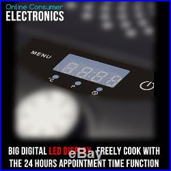 Kitchen Couture Portable 2000W Electric Ceramic Induction Cooker Cooktop With pot