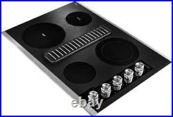 KitchenAid 30 Jenn-Air style Downdraft Electric Cooktop New in box KCED600GSS
