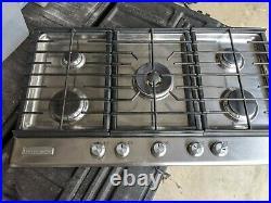 KitchenAid 36'' 5-Burner Gas Cooktop Stainless Steel KFGS366VSS03