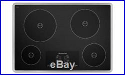 KitchenAid Architect KICU500XSS 30 Stainless Induction 4 Element Cooktop $1799