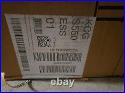 KitchenAid KCGS550ESS 30 5-Burner Gas Cooktop Dual Ring Burner Cook Shield