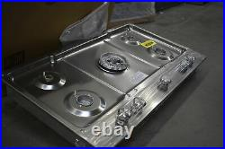KitchenAid KCGS556ESS 36 Stainless 5 Burner Gas Cooktop NOB #40141 WLK