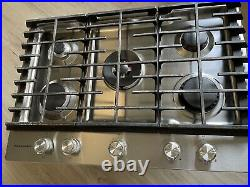 KitchenAid KCGS950ESS00 30 Stainless Steel Natural Gas Cooktop