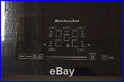 KitchenAid KECC667BBL 36 Black Electric 5 Element Ceramic Glass Cooktop #29829