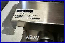 Kitchenaid KKGCU467VSS 36 commercial gas 4 burner/griddle stainless steel