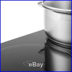 Klarstein Virtuosa Ceramic Glass Hob Built-In Oven Cooker 6500W Genuine New