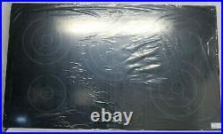 LG 36 5 Burner Electric Ceramic Glass Radiant Cooktop LCE3610SB