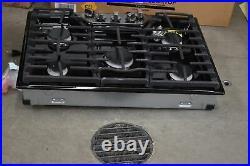 LG LCG3011BD 30Black Stainless Natural Gas Cooktop NOB #103232