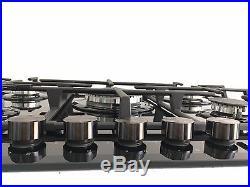 MILLAR GH7051TB 5 Burner Built-in Gas on Glass Gas Hob 70cm with Wok Burner