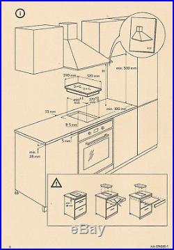MÖJLIG Domino-Keramikkochfeld Cerankochfeld Ikea Touch-Control Ceran-Kochfeld 29