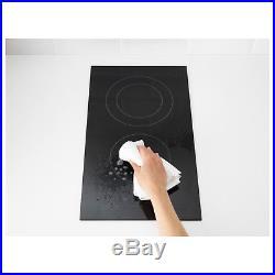 29cm Mit Pausenfunktion IKEA MÖJLIG Domino-Keramikkochfeld in schwarz;