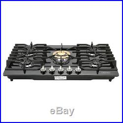 Metawell 30 5 Burners Built-In Stove Top Gas Cooktop NG/LPG Kitchen Gas Cooking