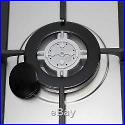 Metawell 30 Stainless Steel 5 High Performance Burners Stove Tops Gas Cooktop