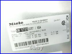 Miele 30 Induction Cooktop Model KM5754
