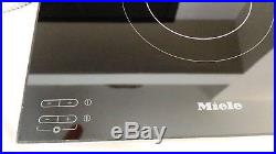 Miele Black 30 SMooth Glass Electric Electric Cooktop KM5656
