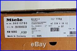 Miele Induction KM 6080 Edelstahl Kochfeld (K80)Klein transportschaden