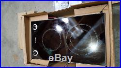Miele KM400 glass double burner