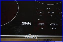 Miele KM5773BL 36 Black Smoothtop Induction Cooktop NOB #20938 MAD