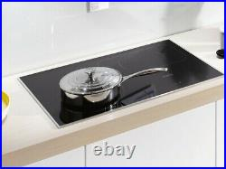 Miele KM6360 Black Induction Cooktop with PowerFlex cooking area for Performance