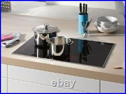 Miele KM6370 Black Induction Cooktop with PowerFlex cooking area for Performance