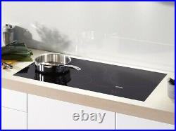Miele KM6375 Black Induction Cooktop with PowerFlex cooking area for Performance
