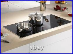 Miele KM6377 Black Induction Cooktop with maximum width for the User Convenience