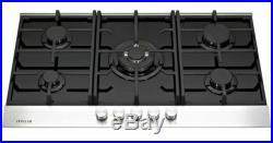 Millar GH9051TDB 90cm 5 Burner Gas Glass Hob Black