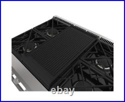 Monogram 36 Professional Gas Rangetop 4 Burners (Natural Gas) ZGU364NDPSS