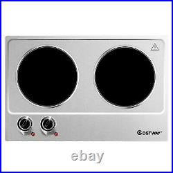 Multifunction 1800W Induction Cooker Electric Freestanding Double Burner Cooktop