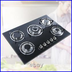 NEW 5 Burners Built-In Stove Top Gas Cooktop Burner Kitchen Cooktop Gas Cooking