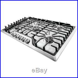 NEW Frigidaire 36 Gas Burner Cooktop in Stainless Steel/Cast Iron FFGC 3626SS