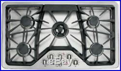 NEW GE CGP650SETSS Cafe Series 36 Gas Cooktop (Stainless Steel) NEW