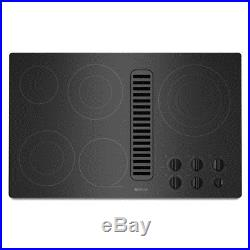 NEW IN BOX CLOSEOUT! Jenn-Air 36 Electric Downdraft Cooktop JED3536WB