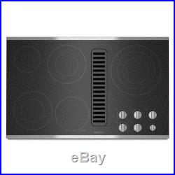 NEW IN BOX CLOSEOUT! Jenn-Air 36 Electric Downdraft Cooktop JED3536WS