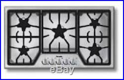 NIB Thermador MasterPiece Series 36 5 Star Burners Natural Gas Cooktop SGS365FS