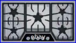 NIB Thermador Masterpiece Series 36 5 Burners Gas Cooktop SGSL365KS Stainless S