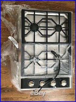 NIB! WOLF 30 Gas Cooktop CT30GS CT30G/S Stainless Steel