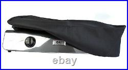 NJ-60SD Edelstahl Gaskocher 2 flammig Campingkocher 7,6 KW mit Zündsicherung