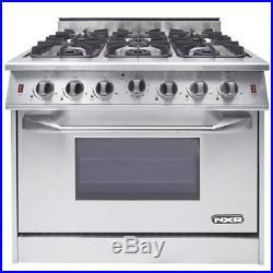 NXR Pro Gas Range 36 6 Burners- Spec. Discount Avail