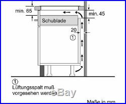Neff TTT5820N TwistPad Autarkes Kochfeld Induktion 80cm T58TT20N0 Flex