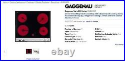 New Gaggenau Vario 200 Series 24 inch Cooktop Model CK260604