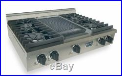 New S&D SS 36 Gas Cooktop with Griddle PLEASE SEE MAP FOR DELIVERY AREA