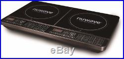 NuWave Double Precision Induction Cooktop Burner Adjustable Increments
