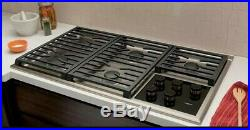 #OC0141 CG365TS 36 Wolf Transitional Gas Cooktop w5 Dual-Stacked Sealed Burners