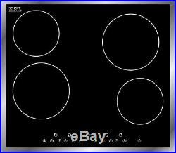pkm ceranfeld schott ceran kochfeld edelstahlrahmen timer glaskeramik autark cooktops appliances. Black Bedroom Furniture Sets. Home Design Ideas