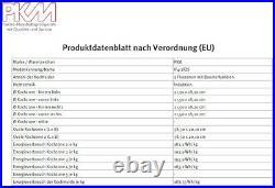 PKM Induktionskochfeld 60cm autark Touch SLIDER rahmenlos Glaskeramik Timer NEU