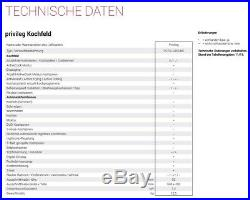Privileg Induktionskochfeld 60cm 4 Zonen Timer Slider Abschaltautomatik Booster